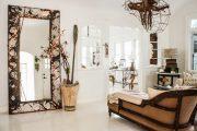 Фото 14 Гримерное зеркало с лампочками: 75 элегантных идей для гардеробной, спальни и ванной