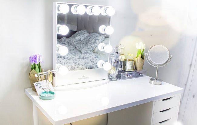 Идеальное зеркальное освещение с помощью светодиодных ламп