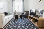 Фото 20 Как подобрать ковёр к интерьеру: советы декораторов и 80 беспроигрышных сочетаний
