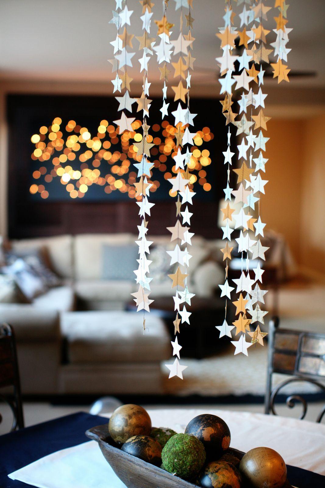 Идеи к новому году своими руками как украсить дом своими руками