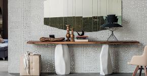 Консоль для гостиной: секреты выбора и 70 роскошных реализаций в интерьере фото