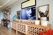 Фото 38 Консоль для гостиной: секреты выбора и 70 роскошных реализаций в интерьере