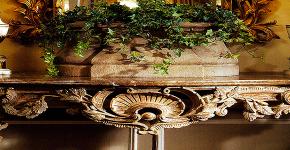 Консольные столики в прихожую: 85 классических и контемпорари решений для входной зоны фото