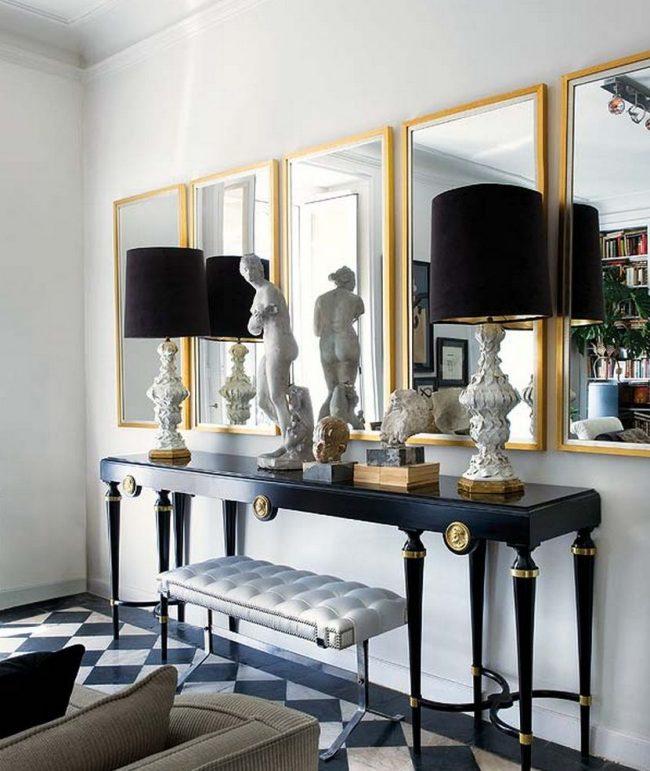 Консольный столик в классическом стиле