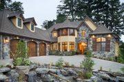 Фото 2 Красивые коттеджи (100+ фото): все тонкости возведения частных домов и обзор современных проектов