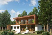 Фото 23 Красивые коттеджи: все тонкости возведения частных домов и обзор современных проектов