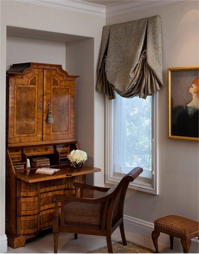 Лондонские шторы обеспечат достаточно света в любом помещении