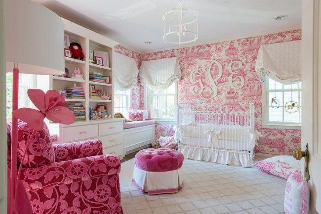 Гармоничный текстильный декор детской комнаты