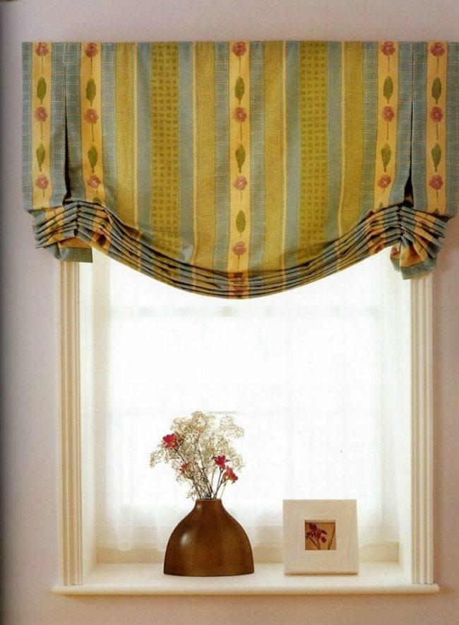Английские шторы можно сшить в домашних условиях