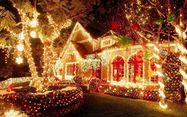 Новогодний декор в духе сказки легко создать своими руками