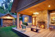 Фото 30 Дровяник своими руками: 70+ удобных и простых в исполнении идей для частного дома