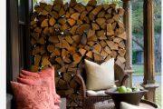 Фото 36 Дровяник своими руками: 70+ удобных и простых в исполнении идей для частного дома