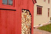 Фото 40 Дровяник своими руками: 70+ удобных и простых в исполнении идей для частного дома