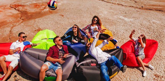 Отдых с друзьями на ламзаках становится вдвойне приятней