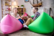 Фото 47 Надувной диван Lamzac: преимущества, примеры использования и тонкости ухода