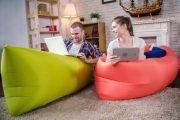 Фото 57 Надувной диван Lamzac: преимущества, примеры использования и тонкости ухода