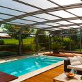 Навесы для бассейна из поликарбоната: 75+ решений для полноценного отдыха и релаксации фото