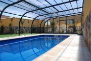 Фото 8 Навесы для бассейна из поликарбоната: 75+ решений для полноценного отдыха и релаксации
