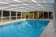 Фото 9 Навесы для бассейна из поликарбоната: 75+ решений для полноценного отдыха и релаксации