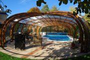 Фото 10 Навесы для бассейна из поликарбоната: 75+ решений для полноценного отдыха и релаксации