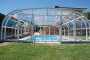 Фото 13 Навесы для бассейна из поликарбоната: 75+ решений для полноценного отдыха и релаксации