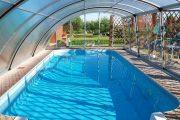 Фото 49 Навесы для бассейна из поликарбоната: 75+ решений для полноценного отдыха и релаксации
