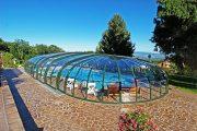 Фото 1 Навесы для бассейна из поликарбоната: 75+ решений для полноценного отдыха и релаксации
