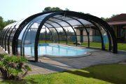 Фото 16 Навесы для бассейна из поликарбоната: 75+ решений для полноценного отдыха и релаксации