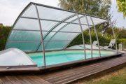 Фото 2 Навесы для бассейна из поликарбоната: 75+ решений для полноценного отдыха и релаксации