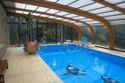 Фото 25 Навесы для бассейна из поликарбоната: 75+ решений для полноценного отдыха и релаксации