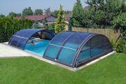 Фото 3 Навесы для бассейна из поликарбоната: 75+ решений для полноценного отдыха и релаксации