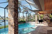 Фото 35 Навесы для бассейна из поликарбоната: 75+ решений для полноценного отдыха и релаксации