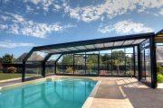 Фото 5 Навесы для бассейна из поликарбоната: 75+ решений для полноценного отдыха и релаксации