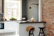 Фото 38 Обои под бетон: очарование лофта в интерьере современной квартиры