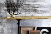 Фото 7 Обои под бетон: очарование лофта в интерьере современной квартиры