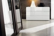 Фото 9 Обои под бетон: очарование лофта в интерьере современной квартиры