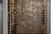 Фото 10 Обои под бетон: очарование лофта в интерьере современной квартиры