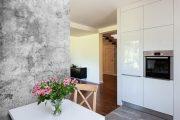 Фото 17 Обои под бетон: очарование лофта в интерьере современной квартиры