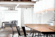 Фото 19 Обои под бетон (100 фото): очарование лофта в интерьере современной квартиры