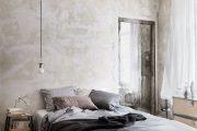 Фото 29 Обои под бетон: очарование лофта в интерьере современной квартиры
