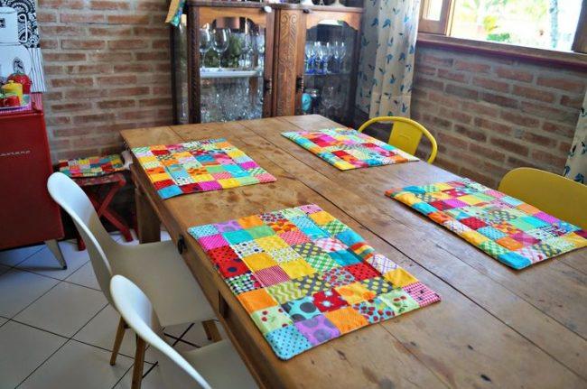 Красивые разноцветные текстильные подставочки для каждого