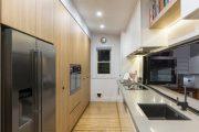 Фото 2 Перенос кухни в коридор: обзор дизайнерских вариантов перепланировки дома