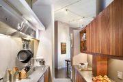 Фото 19 Перенос кухни в коридор: обзор дизайнерских вариантов перепланировки дома