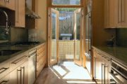Фото 5 Перенос кухни в коридор: обзор дизайнерских вариантов перепланировки дома