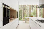 Фото 47 Перенос кухни в коридор: обзор дизайнерских вариантов перепланировки дома