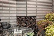 Фото 36 Поленница для дров: виды конструкций и 70 практичных вариантов для частного дома