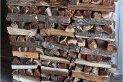 Фото 37 Поленница для дров: виды конструкций и 70 практичных вариантов для частного дома