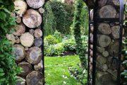 Фото 4 Поленница для дров: виды конструкций и 70 практичных вариантов для частного дома