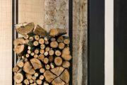 Фото 5 Поленница для дров: виды конструкций и 70 практичных вариантов для частного дома
