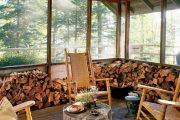 Фото 10 Поленница для дров: виды конструкций и 70 практичных вариантов для частного дома